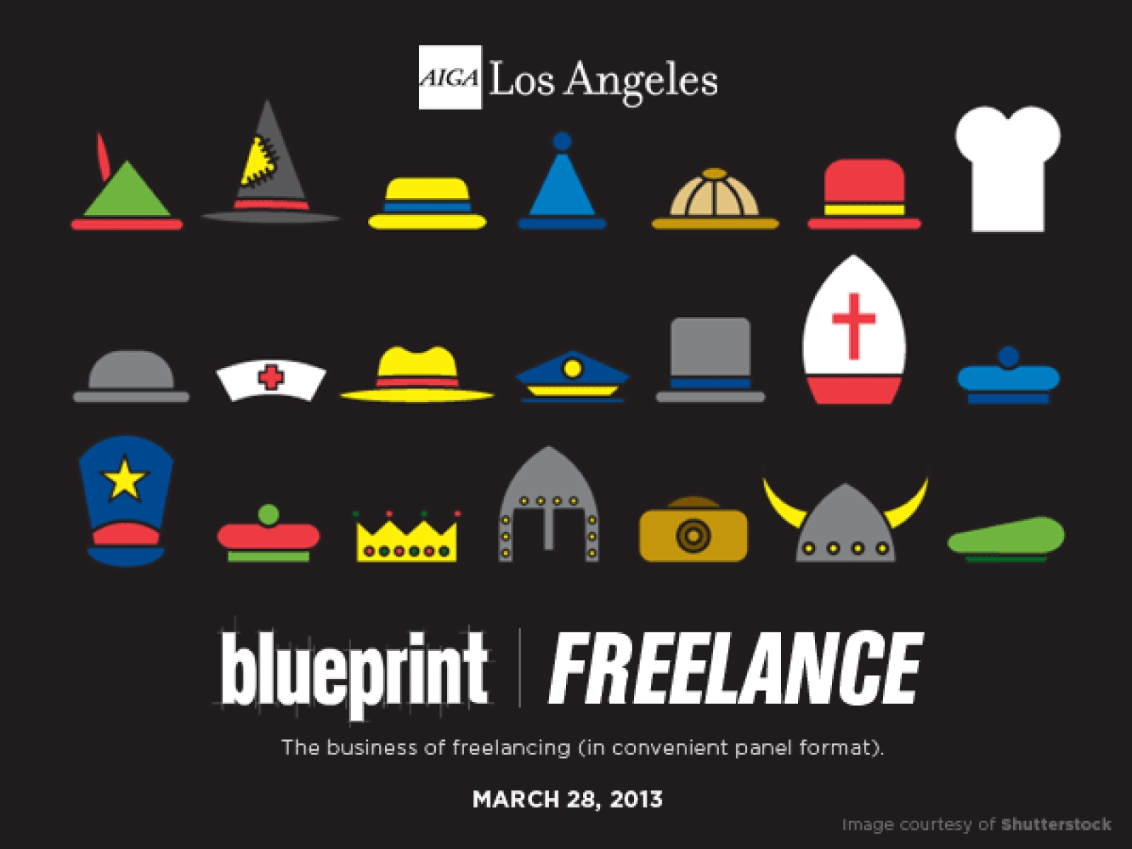 Blueprint series the business of freelance aiga los angeles event image malvernweather Images