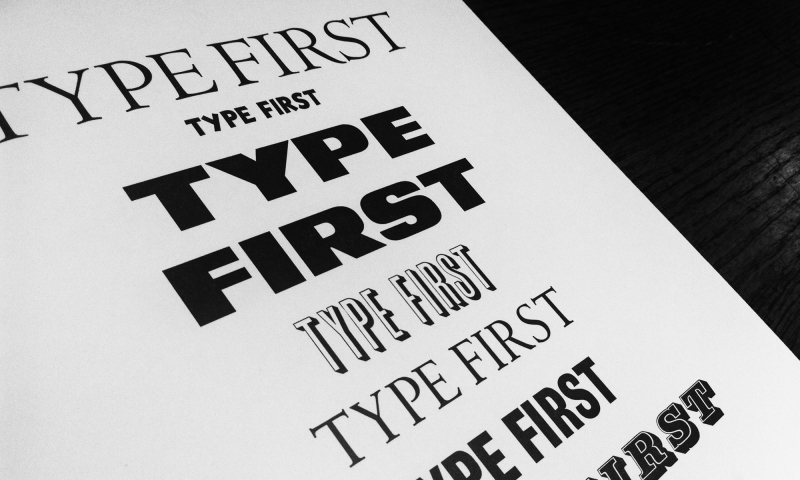 HMCT—TypeFirst Letterpress Workshop